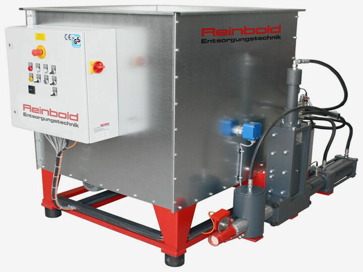 A photo of selected used dust extraction units