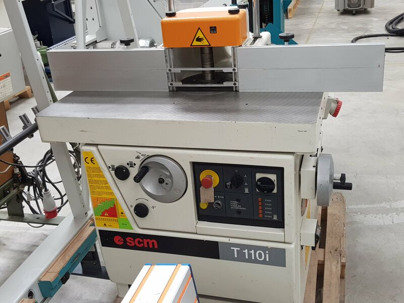 Used SCM T110i Tilting Spindle Moulder