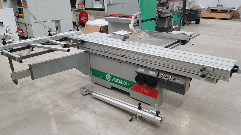 Used Altendorf F92 Panel Saw