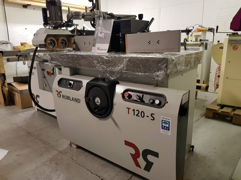 Used Robland T120S Spindle Moulder