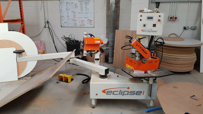 Vitap Eclipse Shaped Edgebander