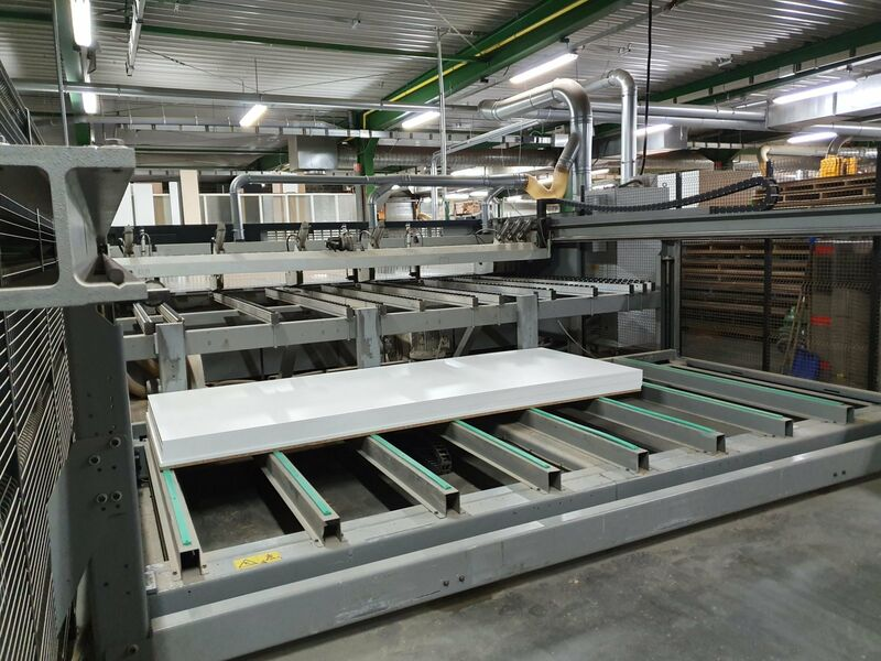 Used Biesse Selco WNT 650 Beam Saw