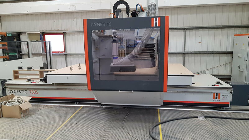 Holzher Dynestic 7535 5 axis CNC Router