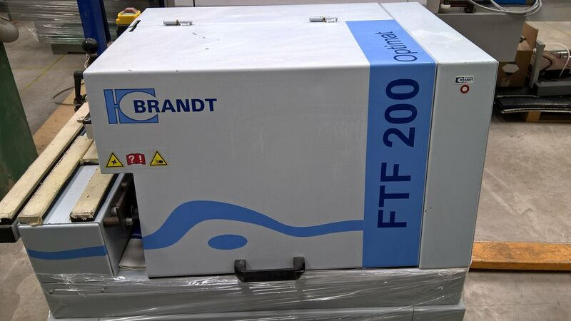 Used Brandt Optimat FTF200 Corner Rounding Machine