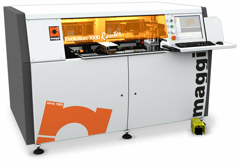 Maggi Evolution 1000 Router, Through-Feed CNC Centre