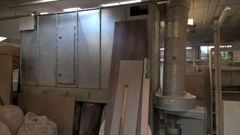 Used Fercell 6 Bag Extraction Unit