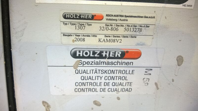 Used Holzher UNO 1307