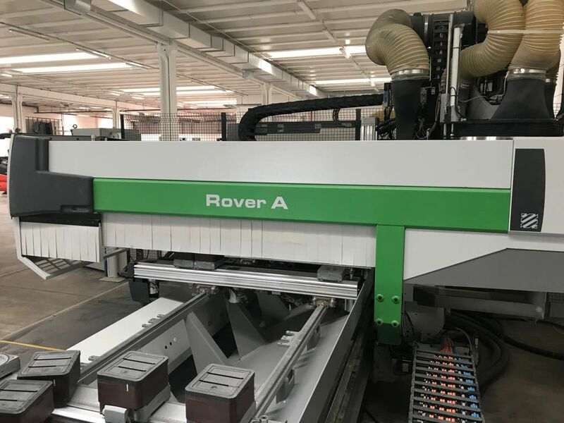 BIESSE Rover A 1332 ATS 5 axis CNC