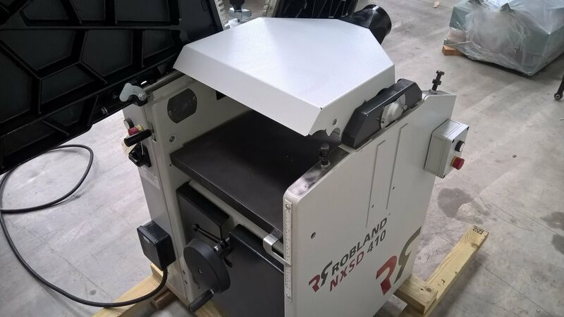 Used Robland NXSD 410 Planer Thicknesser