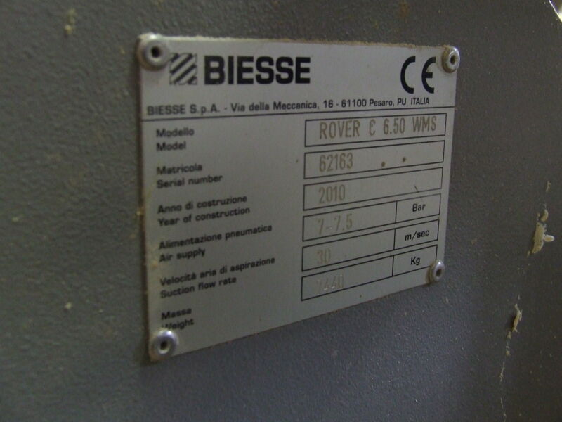 Used Biesse Rover C6.5 WMS