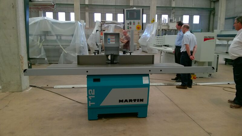 Used Martin T12 Spindle Moulder