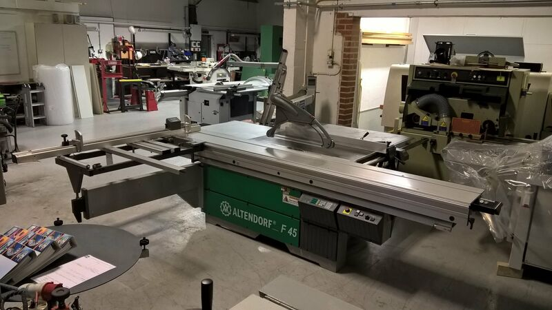 Used Altendorf F45 Panel Saw