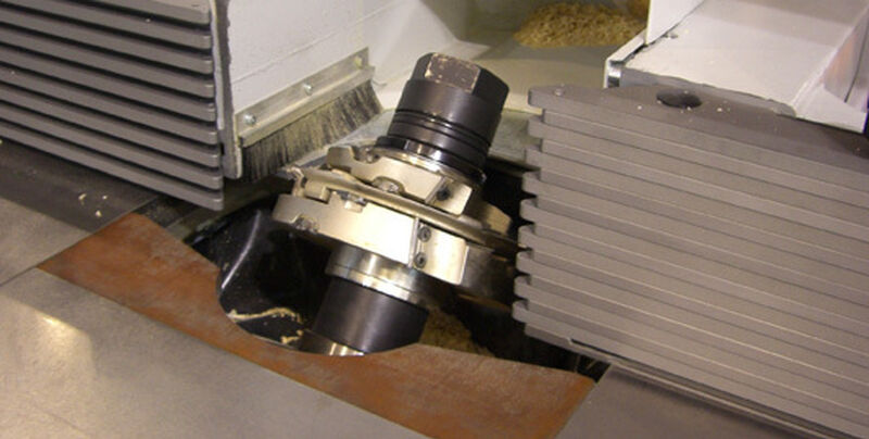 Casolin F45 EVO tilting spindle +-45 degrees