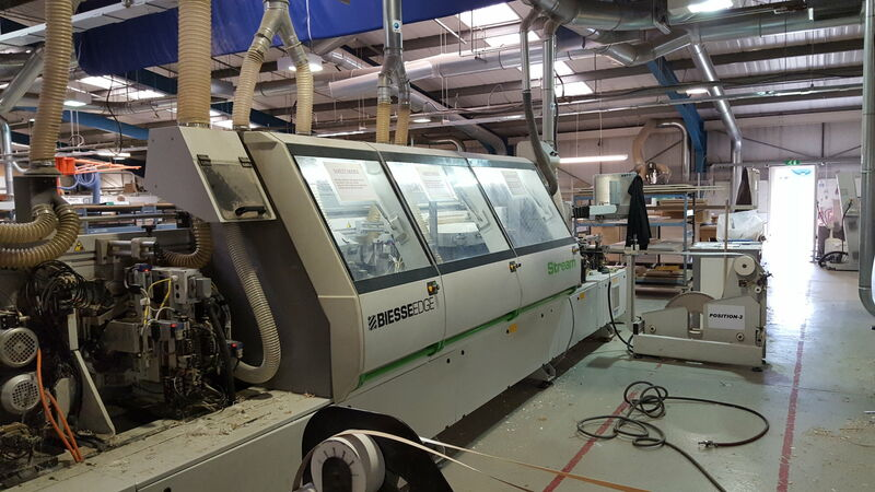 Used Biesse Stream B1 Edgebander