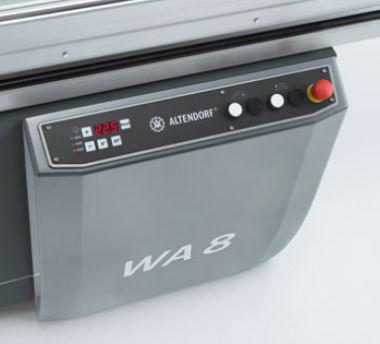 Altendorf WA8TE Machine Frame Control Panel