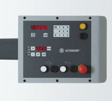 Altendorf WA8X Eye-level Operating Panel