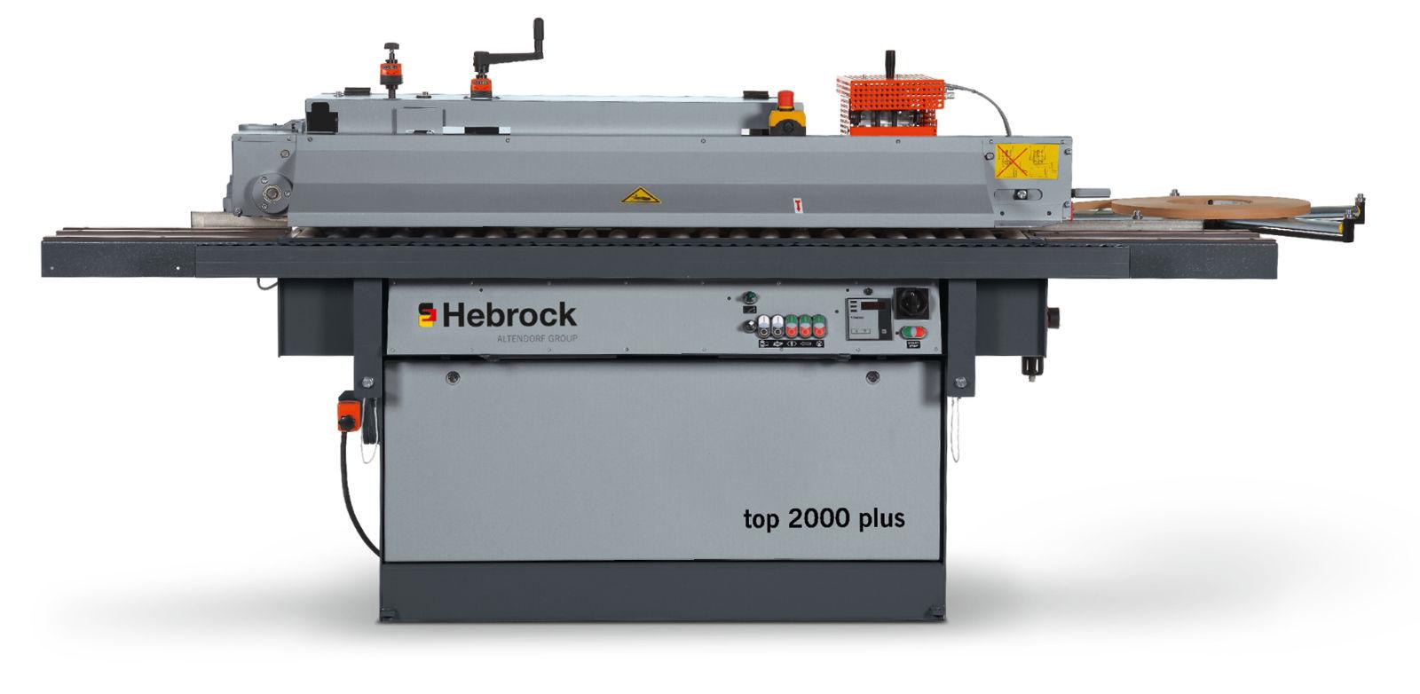 Hebrock Top 2000 Plus edgebander photo