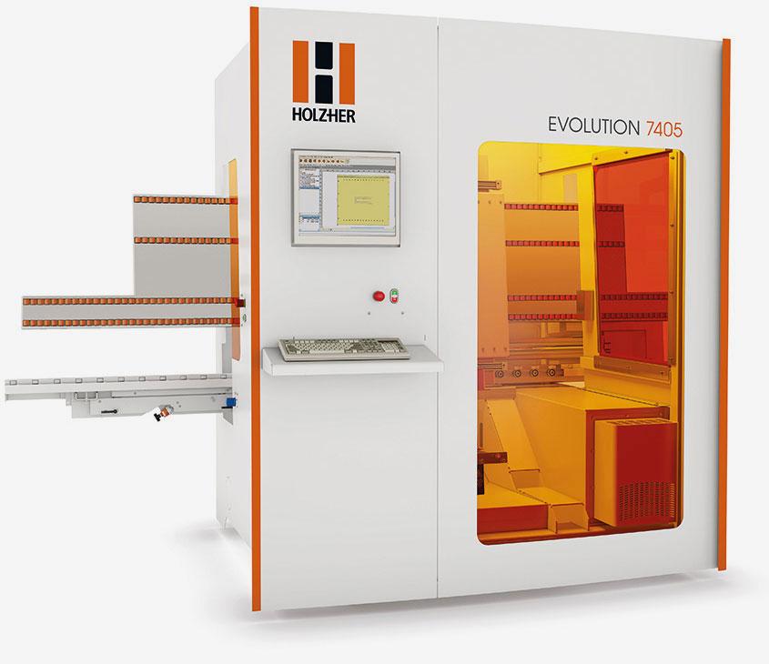 A photo of a HolzHer CNC Machine