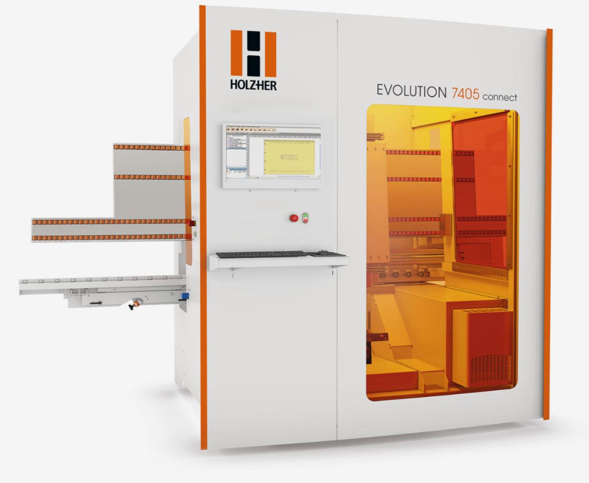 HolzHer Evolution 7405 CNC Machine