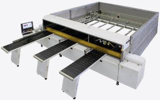 A Macmazza TS 90 beam saws
