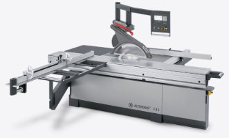 An Altendorf F45 panel saw
